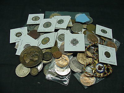 large lot of tokens