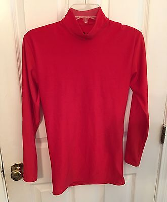 Badger Sport Athletic Shirt Men's Size MedIum Red Long Sleeve