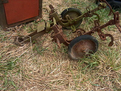 Disc For Old Garden Tractor Big Wheeled One That Takes Rear Attachments