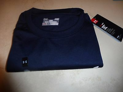 Under Armour Men's Heat Gear Short Sleeve Loose fit T-Shirt New W/ tags Sz MD NB