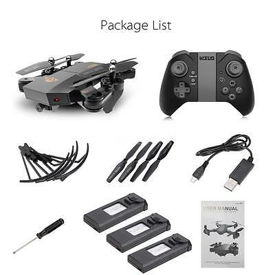 High Quality VISUO XS809HW Wifi FPV 2MP RC Quadcopter W/Extra 2 Battery