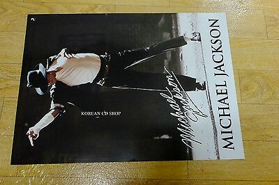 Michael Jackson *Official POSTER* double side poster FOLDED POSTER