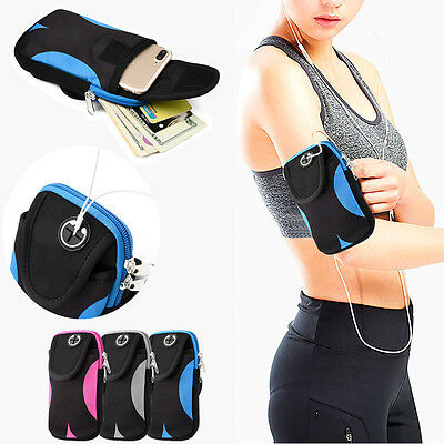 Sports ArmBand Case For iPhone 6/7 Plus Running Jogging Wrist Arm Band Pouch Bag