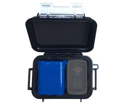 SpyTec 6 Month Extended Battery + Magnetic Waterproof Case for STI_GL300