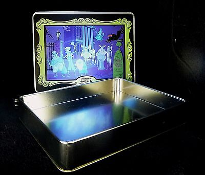 "SHAG Rare 2009 ""HAUNTED MANSION"" Collectors PostCard Tin Card Box- Josh Agle New"