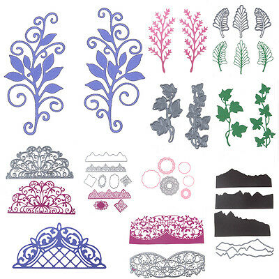 New Metal Cutting Dies Stencil DIY Scrapbooking Embossing Album Card Craft DIY