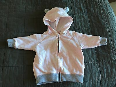 SEED girls tracksuit jumper 3-6mth
