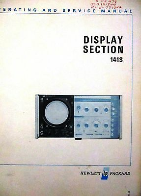 HP DISPLAY SECTION MANUAL for 141S
