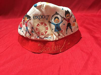 Vintage Expo 67 Montreal. Canada Hat⭐️1967⭐️SALE - CHEAPEST PRICE IT WILL BE!