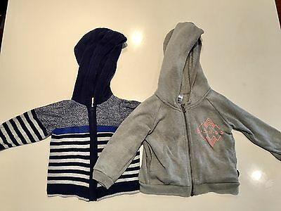 2 Baby Boy Jumpers Size 00