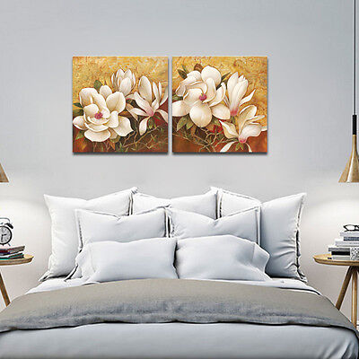 Canvas Print Painting Pictures Home Decor Wall Art Landscape Flowers Framed