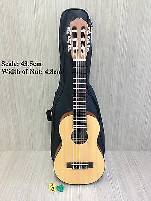 Caraya Solid Spruce Top Tenor Size Guitarlele,Natural Matt w/Free gig bag.C-28SN