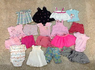 Size 00 Mixed Lot Of Girls Summer Clothes