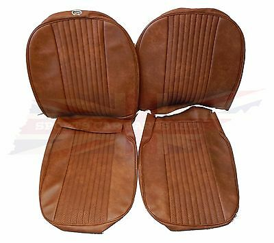 New Pair of Seat Covers Upholstery MGB 1970-72 Made in UK  Autumn Leaf SC111K