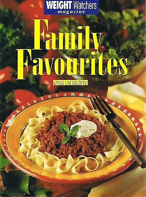 WEIGHT WATCHERS Cookbook - Family Favourites - 150+ Recipes FREE POST