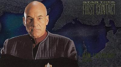 1996 Star Trek First Contact Character Card Jean-Luc Picard C1 NM/Mint condition