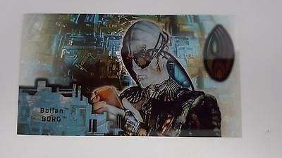 1996 Star Trek First Contact Techno Cell Card Bolian Borg B5 NM/Mint cond
