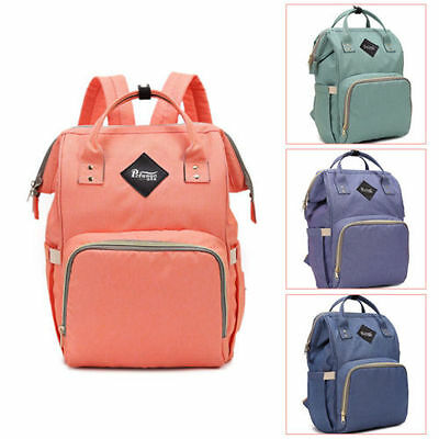 Luxury Multifunctional Baby Diaper Nappy Backpack Waterproof Large Changing Bag