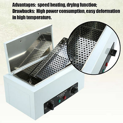 220V Portable High Temperature Sterilizer Autoclave Medical Salon Device Tool AU