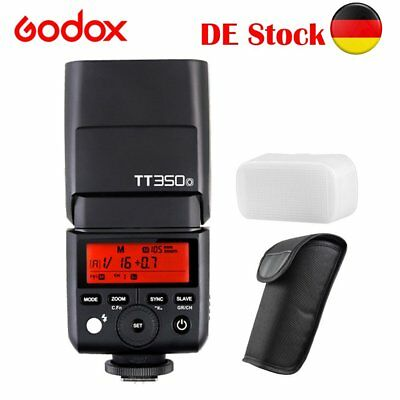 Godox TT350O TTL 2.4G Cámara Flash Speed For Olympus Panasonic PL7 P3 G85 LX100