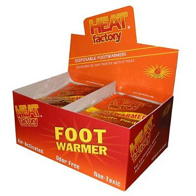Heat Factory Foot Warmers, Box of 40 Pairs