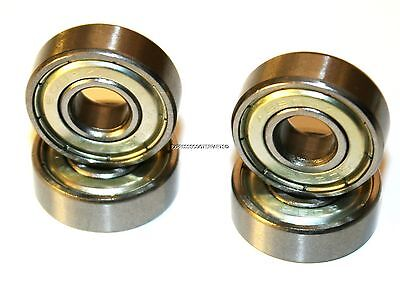 608Zz Abec-7 Skateboard Push Scooter Roller Inline Skate Bearings Gold