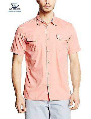 Oxbow Castry Chemise Homme Pêche FR L Taille Fabricant
