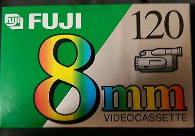 New Fuji P6-120 min 8mm High Quality Hi8 Camcorder Tape