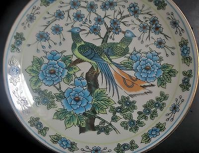 antique chinese porcelain hand painted plate