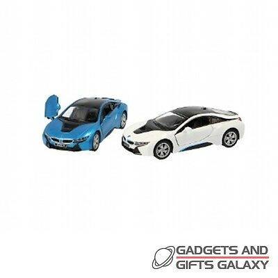 BMW i8 1:36 SPORTS CAR SCALE MODEL ass colours toy gift novelty childs kids