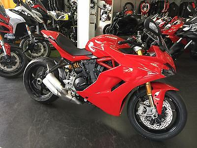 Ducati Supersport S Ohlins,Quickshifter,Sports Touring motorcycle £11895 PRE-REG