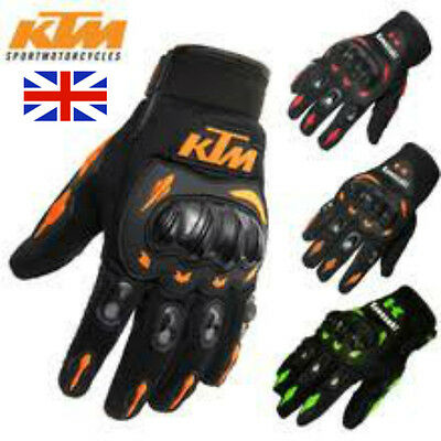 KTM Kawasaki Fox Motorcycle Motocross cycle Enduro Off Road Bike Gloves free P&P