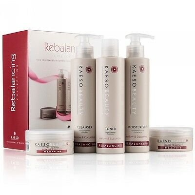 Kaeso REBALANCING Facial Set Kit - Moisturising Range Tone Oily/Combination Skin