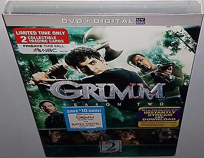 Grimm Complete Season 2 Brand New Sealed R1 Dvd + Limited Edition Trading Cards