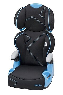 Baby Car Seat Blue Convertible Booster Chair Infant Toddler Safety Kid Travel
