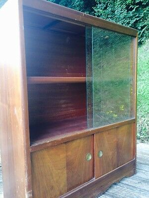Vintage Retro  Display / Bookcase , Mid Century Modern Cheap, Re Finish