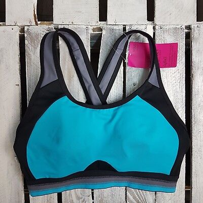 EX M&S LADIES Infin8 High Impact Non-Padded Full Cup Sports Bra A-E (M17)