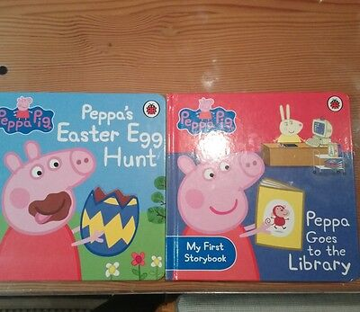 Peppa Pig: Peppas Easter Egg Hunt, peppa goes to the library, Very Good Book
