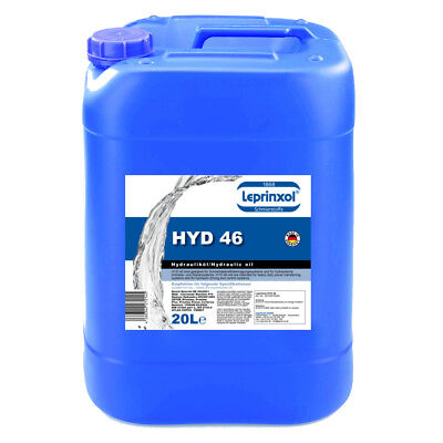 1x20l HYD46 Hydrauliköl HLP 46 H LP ISO VG Made in Germany 20 Liter