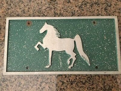 saddlebred license plate