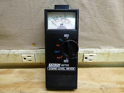 Extech Instruments 407703 Sound Level Meter FREE SHIPPING!!