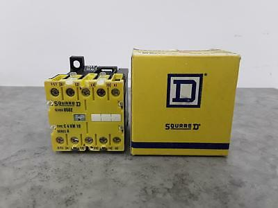 Square D Motor Control Relay Basic Contactor Class 8502 Type. C4KW10 ##