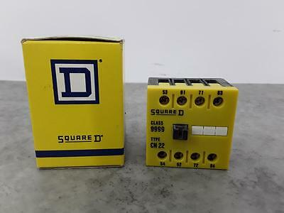 Square D Control Relay Basic Contactor Class 9999 Type. CN 22 ##