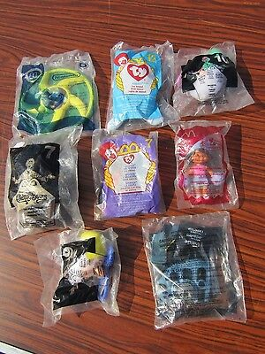 Lot of 8 Vintage McDonalds Advertising Give Away Collector Toys