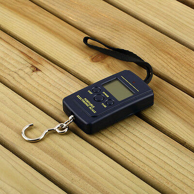 20g 40Kg Pocket Digital Scale Electronic Hanging Luggage Balance Weight M#