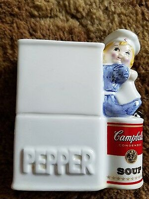 1996 Campbell's Soup Kids Pepper Shaker Collector's Edition