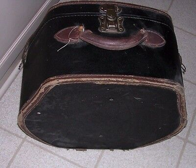 Steampunk Mens 1800's Victorian Era Antique Suitcase / Hat Box Luggage