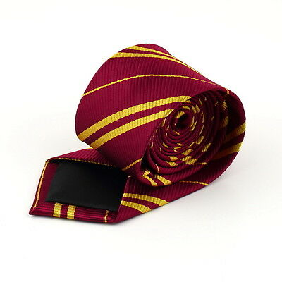 Tie Gryffindor Slytherin Ravenclaw Hufflepuff Costume Cosplay M#