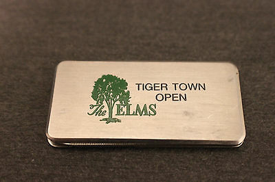 Vintage Barlow  Tiger Town Open @ The Elms In Ohio  ~  Pocket Knife & File