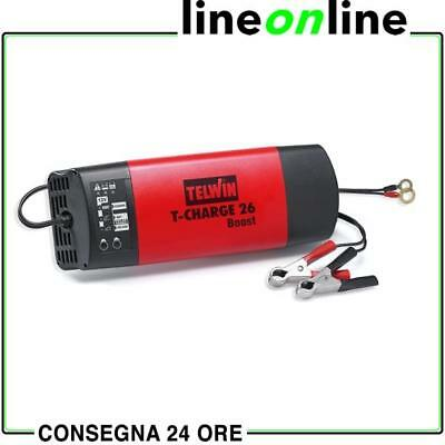 Caricabatterie auto TELWIN T-Charge 26 Boost